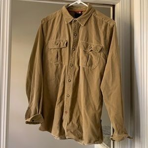 Corduroy Shirt - tan